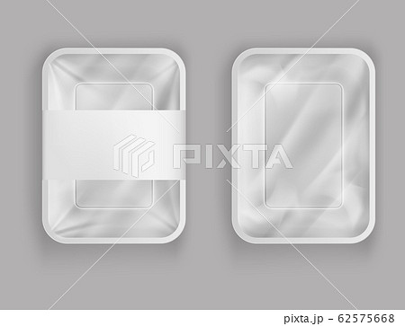 3d realistic plastic container for food 62575668