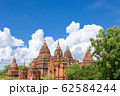 ミャンマー_バガンの仏塔群 62584244