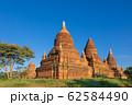 ミャンマー_バガンの仏塔群 62584490