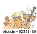 フェスティバル音楽がテーマの背景素材 62591489