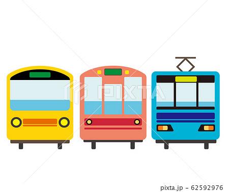 電車 列車 鉄道 アイコン 62592976