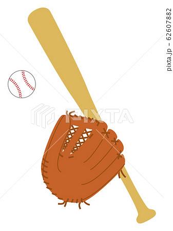 野球の道具3点セット 62607882