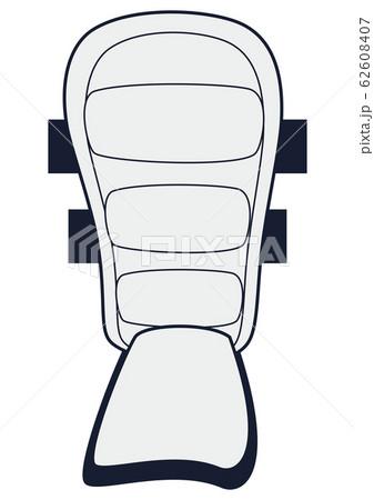 バッターのレガース 62608407