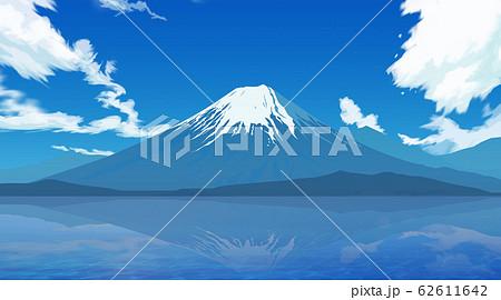 逆さ富士 62611642