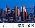 《ニューヨーク》マンハッタンの夜景・ハルミトンパークより 62614619