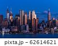 《ニューヨーク》マンハッタンの夜景・ハルミトンパークより 62614621
