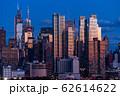 《ニューヨーク》マンハッタンの夜景・ハルミトンパークより 62614622