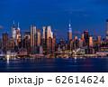 《ニューヨーク》マンハッタンの夜景・ハルミトンパークより 62614624