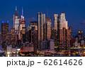《ニューヨーク》マンハッタンの夜景・ハルミトンパークより 62614626