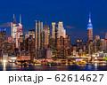 《ニューヨーク》マンハッタンの夜景・ハルミトンパークより 62614627