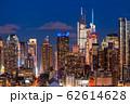 《ニューヨーク》マンハッタンの夜景・ハルミトンパークより 62614628