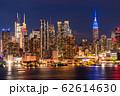 《ニューヨーク》マンハッタンの夜景・ハルミトンパークより 62614630