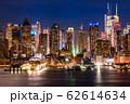 《ニューヨーク》マンハッタンの夜景・ハルミトンパークより 62614634