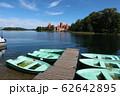 ヨットとトラカイ城 62642895