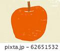 りんご 版画調 62651532