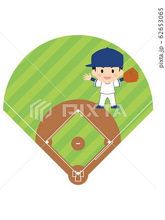 野球のライト 62653065