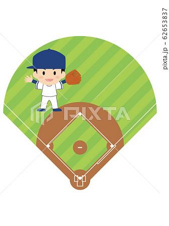 野球のレフト 62653837