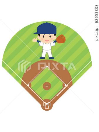 野球のセンター 62653838