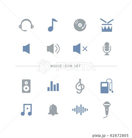 MUSIC ICON SET 62672805