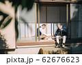 将棋をするシニア男性 62676623