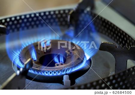 ガスコンロの炎 62684500