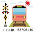 踏切 電車 列車 鉄道 アイコン 62706140