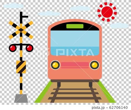 鐵路道口火車火車鐵路圖標 62706140