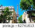 パリ エッフェル塔 街並み フランス 62741613