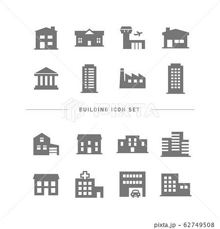 BUILDING ICON SET 62749508