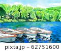 水彩画 木戸池 62751600