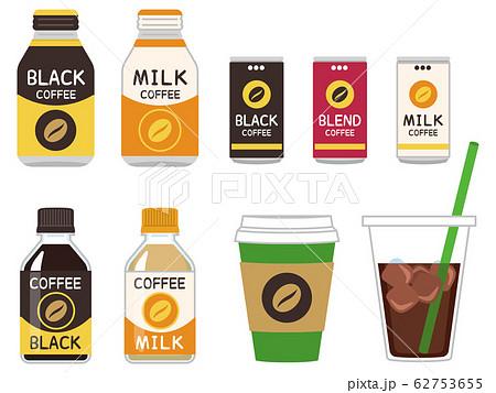 コーヒー飲料 缶コーヒー ペットボトル テイクアウト 62753655