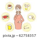 妊娠中 食べ物 飲み物 お酒 タバコ 62758357