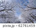 三重県 冬の御在所山頂 樹氷 霧氷 62761459