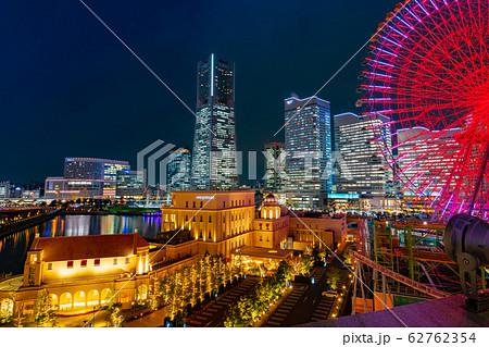 横浜みなとみらいの夜景 62762354