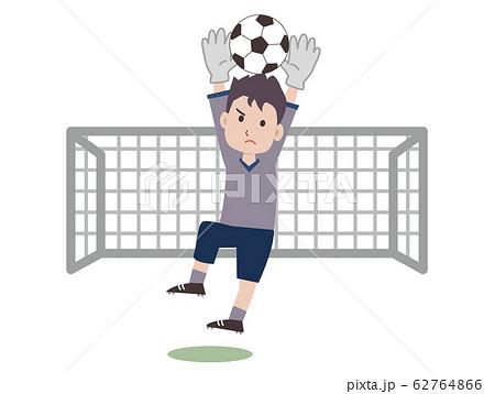 サッカー ゴールキーパー 62764866