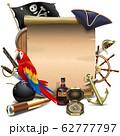 Vector Pirate Paper Scroll 62777797