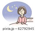不眠症 中年 女性 62792945