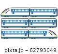 新幹線 電車 列車 鉄道 アイコン  62793049
