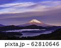 (神奈川県)箱根大観山から望む富士山 夜明け 62810646
