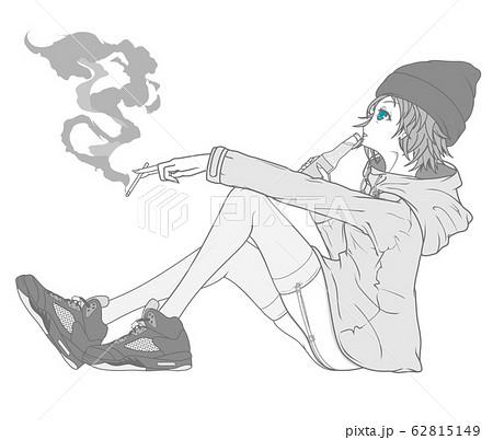 女の子(マウンテンパーカー) 62815149
