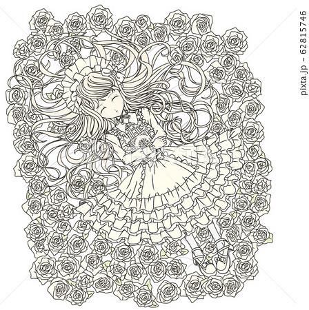 白ロリィタ(眠る) 62815746