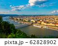 ハンガリー ドナウ川とブダペストの街並み 62828902