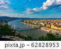 ハンガリー ドナウ川とブダペストの街並み 62828953