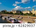 ハンガリー ドナウ川とブダペストの街並み 62829037