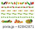 夏野菜 セット ライン 62842871