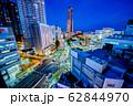浜松市 浜松駅周辺夜景 62844970