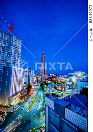 浜松市 浜松駅周辺夜景 62844972