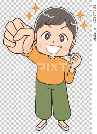 奶奶高級女人可愛漫畫動漫插畫 62877533
