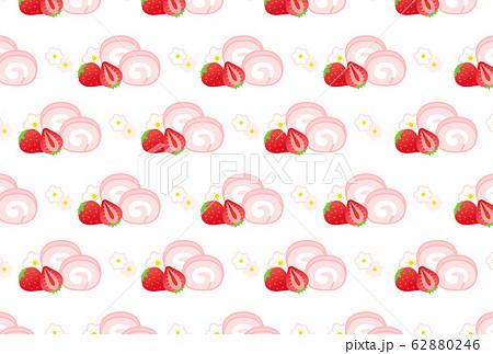 苺背景 62880246