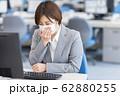 女性 風邪 マスク 62880255